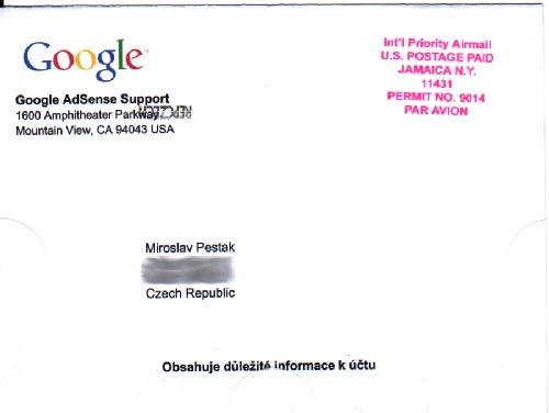 dopis google