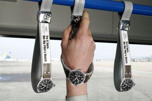 creative advertisements clock
