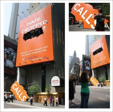 drop billboard cingular