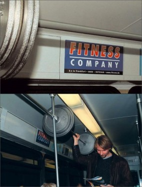 fitness on bus