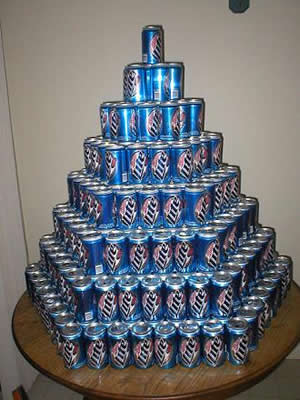 Miller lite tower
