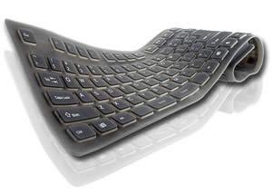 Silikonová klávesnice