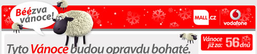 Vodafone bezva vánoce