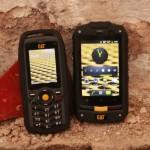 Telefony s odolností buldozeru CAT B10 a CAT B25